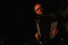 Andreas Hermeyer während seiner Lettland-Tournee im Jazzclub Valmiera (Dezember 2013)