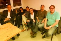 Meeting mit Ulrich Tukur und den Rhythmus-Boys in Hamburg (Mai 2015)